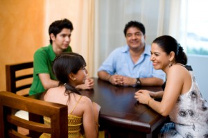 talking with children about divorce